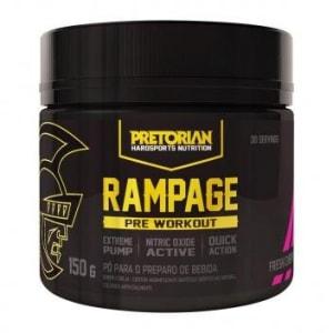 [2 sabores] Pré-Treino Rampage 150g Exclusivo - Pretorian - Magazine Ofertaesperta