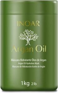 Máscara Capilar Argan Oil Tratamento Intensivo Hidratante 1000G Inoar
