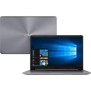 Notebook Asus Vivobook X510UR-BQ209T Intel Core i5 8GB (GeForce 930MX de 2GB ) 1TB Tela Nano Edge 15,6'' Windows 10 - Cinza
