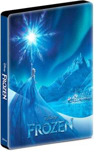 Blu-ray Frozen: Uma Aventura Congelante - Steelbook