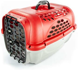 Caixa de Transporte Para Cães e Gatos Panther Nº3 - Vermelha