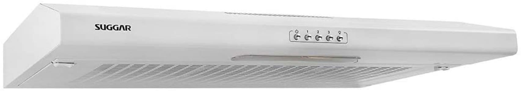 Depurador de ar Slim branco com manta 80cm 110V Suggar - DI801BR