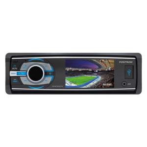 """DVD Player Automotivo Pósitron com Tela de 3"""" Widescreen, TV Digital, Bluetooth, Entrada Auxiliar Frontal, SD, USB, Rádio AM/FM e Controle Remoto"""
