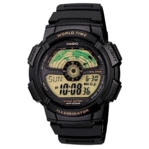 Relógio Masculino Digital Casio AE-1100W-1BVDF - Preto