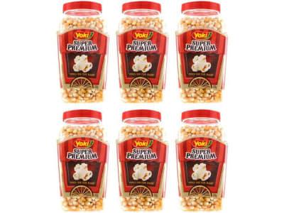 Milho de Pipoca Yoki Super Premium 650g 6 Unidades - Magazine Ofertaesperta