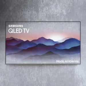 "Smart TV QLED 55"" Samsung Q6FN Ultra HD 4K Modo Ambiente, Tela de Pontos Quânticos, Controle Remoto Único"
