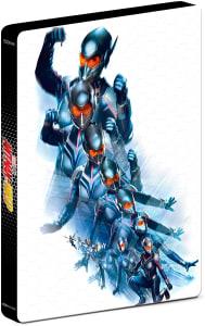 Blu-ray Steelbook Homem-Formiga e A Vespa + Blu-ray 3D