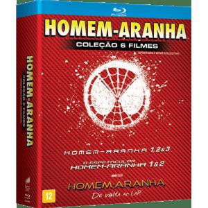 Homem-Aranha 1-6 (Blu-Ray) (6 Discos)