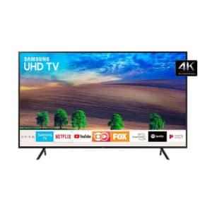 """Samsung Un50nu7100 - Tv Led 50"""" Smart Tv 4k Uhd 3hdmi 2usb Preto"""