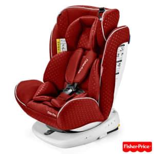Cadeira para Auto Easy 360° Fix 0-36 Kg Vermelho BB575 - Fisher Price