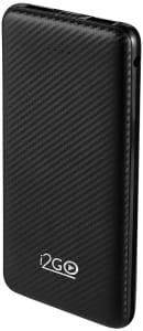Carregador Portátil (Power Bank) I2GO 10000mAh 2 Saídas USB Preto - I2GO Plus