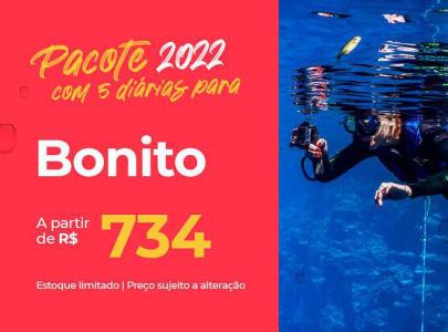 Pacote Bonito - 2022 Aéreo + Hospedagem com Café da Manhã