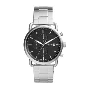 Relógio Fossil Townsman Masculino Prata Analógico FS5435/1KN