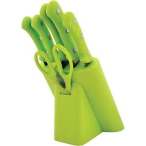 Conjunto de Corte para Cozinha Verde 6 Peças - Casita