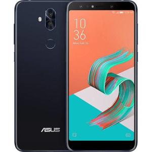 "Smartphone Asus Zenfone 5 Selfie Pro 128GB Dual Chip Android Nougat Tela 6"" Snapdragon 630 Octa-Core 4G Câmeras Frontal 20MP + 8MP Traseira 16MP + 8MP 3000mAh - Preto"