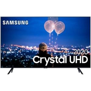 "Smart TV LED 4K 55"" Samsung 55TU8000 Wi-Fi Bluetooth HDR 3 HDMI 2 USB - UN55TU8000GXZD"