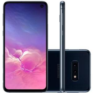 """Smartphone Samsung Galaxy S10E Tela 5,8"""" 128GB Dual Chip OctaCore Câmera Traseira Dupla Preto"""