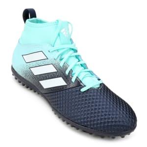 Chuteira Society Adidas Ace 17.3 TF Masculina - Azul e Preto - Nº 38 ao 41!
