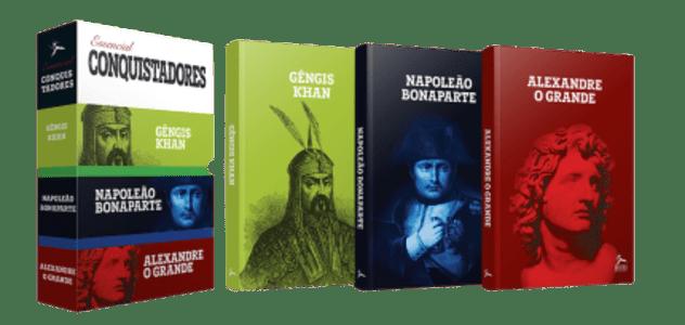 Box - Essencial Conquistadores - 3 Volumes