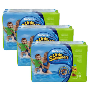 Fraldas Huggies Little Swimmers Mar e Piscina Regular P - Kit com 36 Unidades