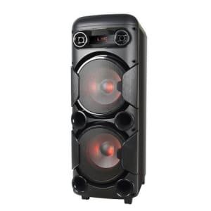 Caixa de Som Multilaser Mini Torre com Bluetooth, Rádio Fm, Entradas Usb e Cartão de Memória  900W - SP380 - Magazine Ofertaesperta