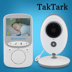 Babá Eletrônica TakTark 2.4 Vídeo Sem Fio