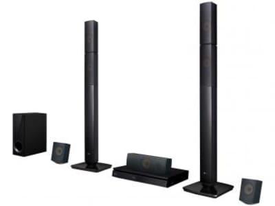 Home Theater LG LHB645N Blu-ray 5.1 Canais - 1000W Wireless HDMI USB - Magazine Ofertaesperta