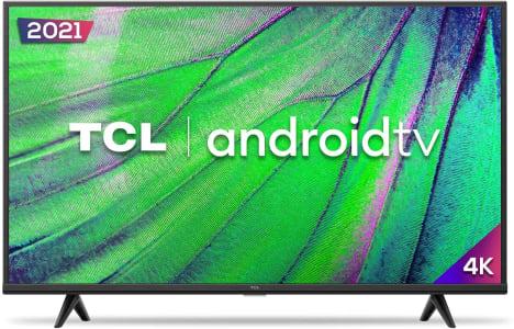 """Smart TV TCL P615 43"""" LED 4K UHD HDR Wifi e Bluetooth 3 HDMI 1 USB 60Hz - 43P615"""