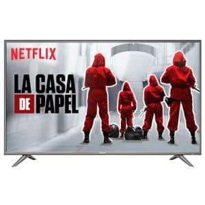 Smart TV LED 49 Polegadas SEMP SK6200 Ultra HD 4K HDR com Wifi Integrado Prata
