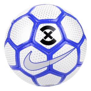 Bola Futsal Nike Premier X - Branco e Azul
