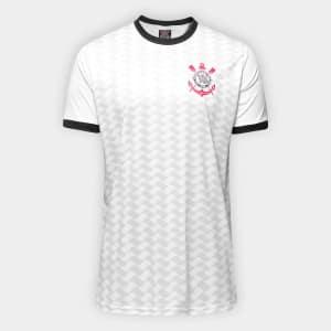 Camisa Corinthians Libertados Masculina - Branco