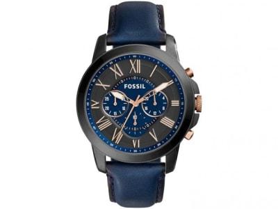 Relógio Masculino Fossil Analógico - Resistente à Água FS5061/0AN