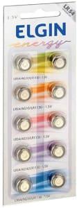 Confira ➤ Bateria Botão, Elgin, Lr54, 1.5v, Cartela Com 10 ❤️ Preço em Promoção ou Cupom Promocional de Desconto da Oferta Pode Expirar No Site Oficial ⭐ Comprar Barato é Aqui!