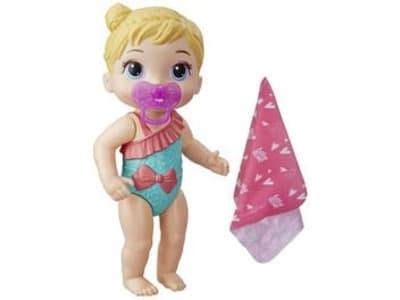 Boneca Baby Alive Bebê Banhos Carinhosos - com Acessórios Hasbro - Magazine Ofertaesperta