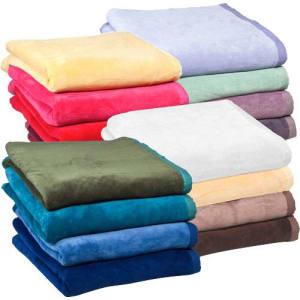 Cobertor Solteiro Fleece Soft Class Liso Marfim - Casa & Conforto
