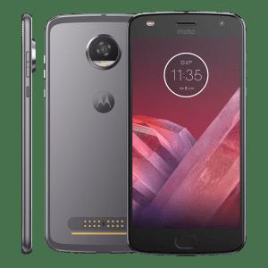 Smartphone Motorola Moto Z2 Play XT1710 Platinum - Dual Chip Android 7.0 Tela 5.5´´ 64GB Compatível Com Snaps Motorola