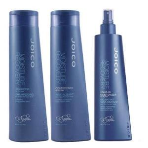 Kit Moisture Recovery 300ml - Shampoo + Condicionador + Leave In - 3 Produtos