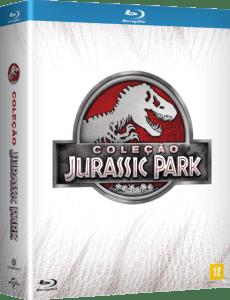 Blu-Ray Coleção Completa Jurassic Park - 4 Discos (Cód: 9087712)