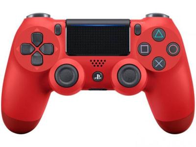 Controle para PS4 Sem Fio CUH-ZCT2U Sony - Vermelho e Preto