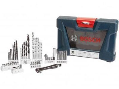 Kit Ferramentas Bosch 41 Peças V-Line 41 - com Maleta - Magazine Ofertaesperta