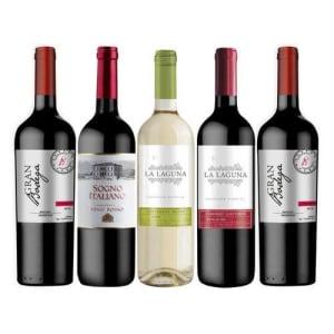 Kit De Vinhos Seleção Terroir 5 Garrafas