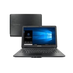 Notebook Compaq Intel Core i3-5005U 4GB HD 500GB Tela 14 Pol. Window 10 Home L470321B