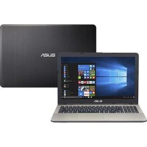 "Notebook Asus Vivobook Max X541NA-GO473T Intel Celeron Quad Core 4GB 500GB Tela LED 15,6"" Windows 10 - Preto"