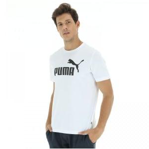 [6 cores] Camiseta Puma Essentials Logo - Masculina