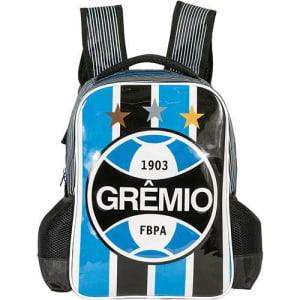 Mochila de Costas Xeryus Preto e Azul Grêmio