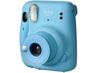 Instax Mini 11 Fujifilm Azul Flash Automático - Magazine Ofertaesperta