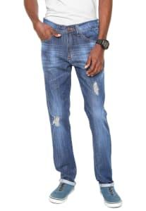 Calça Jeans Fatal Surf Skinny Ly Azul (Tam: Do 38 ao 46)