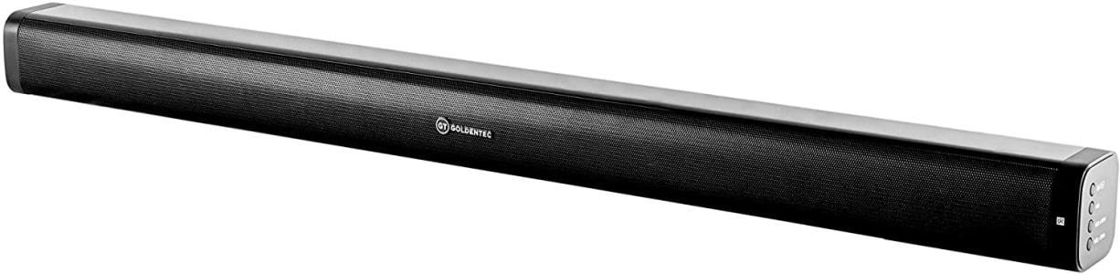 Soundbar Bluetooth 80W RMS 2.0 Canais | Goldentec