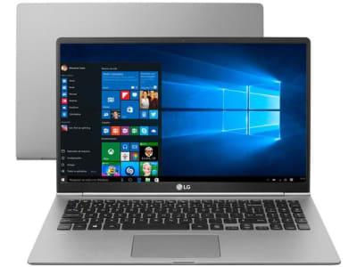 "Notebook LG Gram 15Z980-G.BH72P1 Intel Core i7 8GB - SSD 256GB LED 15,6"" Full HD Windows 10 - Magazine Ofertaesperta"