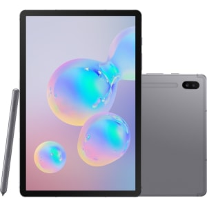 """Tablet Samsung Galaxy Tab S6 128GB 4G Tela 10.5"""" Android Octa-Core 2.0GHz"""